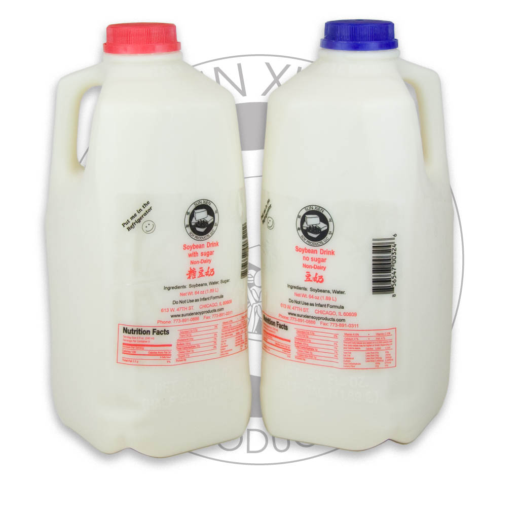 Half Gallon Soy Milk
